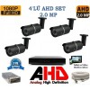4 Kameralı Hd Kamera Sistemi