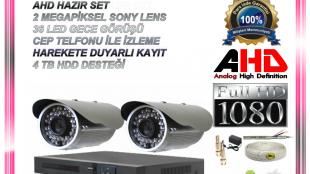 2 Kameralı Kamera Sistemi
